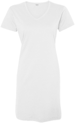 LAT Ladies' V-Neck Fine Jersey Cover-Up