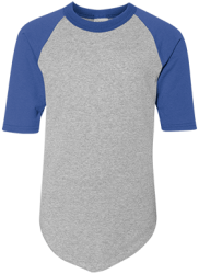 Augusta Youth Colorblock Raglan Jersey