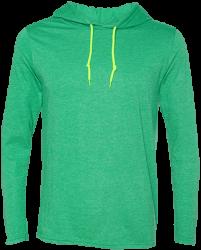 Anvil Mens LS T-Shirt Hoodie
