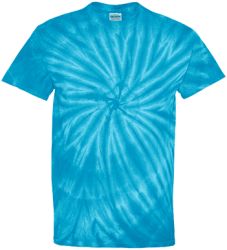 Tie Dye Mens 100% Cotton T-Shirt