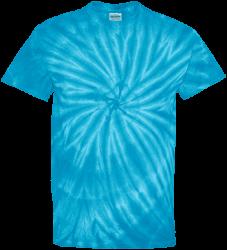 Tie Dye Mens 100% Cotton T-Shirt
