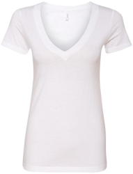 Next Level Ladies' Deep V-Neck T-Shirt