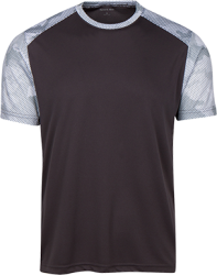 Sport-Tek Mens CamoHex Colorblock T-Shirt