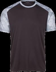 Sport-Tek Mens CamoHex Colorblock T-Shirt