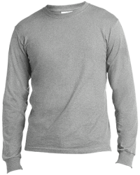 Port & Co. Mens LS Made in the US T-Shirt